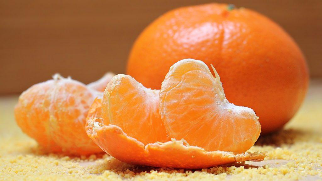 tangerines, fruit, food
